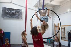 Légiakrobatika/ Aerial hoop