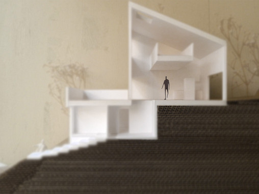 傾斜地の住宅設計案件