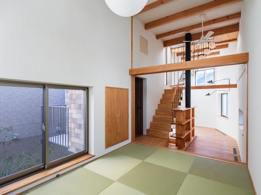 住宅の大空間と温熱環境のパッシブデザイン・OM設計