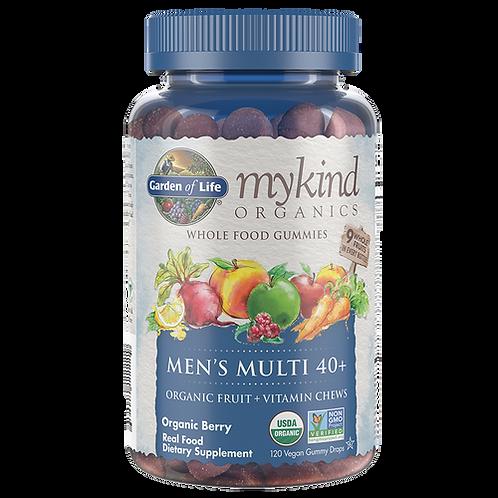 Garden of Life mykind Organics Men's Multi 40+ Gummies 120 ct.