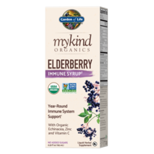 Garden of Lfe mykind Organics Elderberry Immune Syrup  195 ml