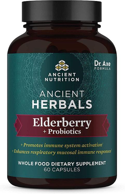 Ancient Nutrition Ancient Herbals Elderberry  60 caps