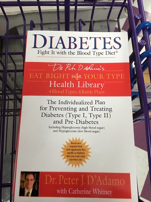 Eat Right 4 Your Type Diabetes