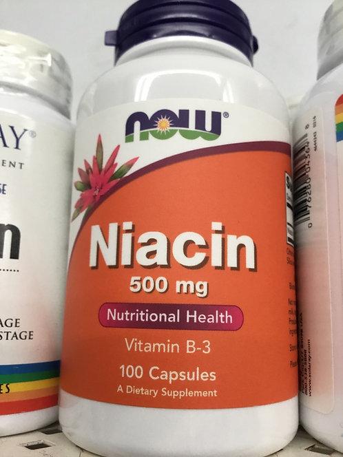 Now Niacin 500mg