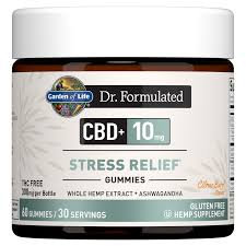 Garden of Life Dr. Formulated CBD+ Stress Relief  Gummies  60 gummies