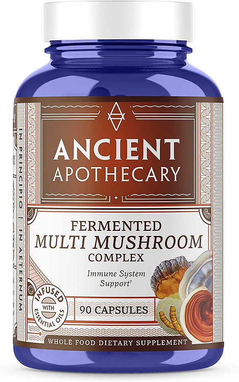 Ancient Nutrition Ancient Apothecary Fermented Multi Mushroom Complex  90 caps