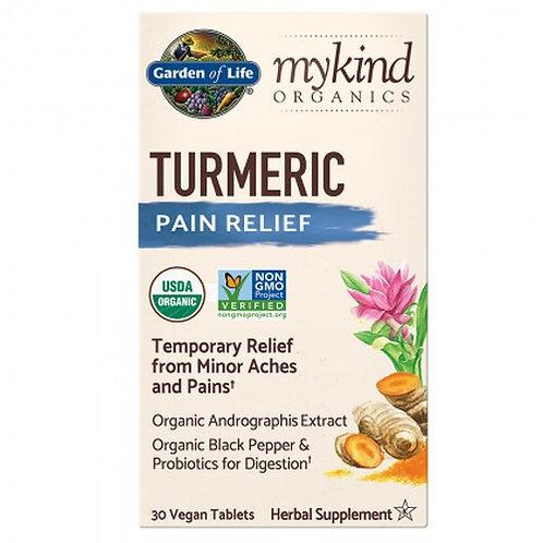 Garden of Life Turmeric Pain Relief 30 Tabs
