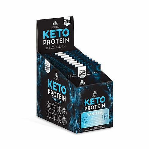 Ancient Nutrition Keto Protein Vanilla 1.09 oz.
