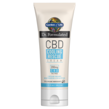 Garden of Life Dr. Formulated CBD Cooling Rescue Cream  38.4 ml