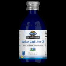 Garden of Life Dr. Formulated Alaskan Cod Liver Oil Lemon  400 ml