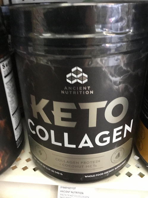 Ancient Nutrition keto Collagen collagen + coconut mct