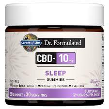 Garden of Life Dr. Formulated CBD+ Sleep Gummies  60 gummies