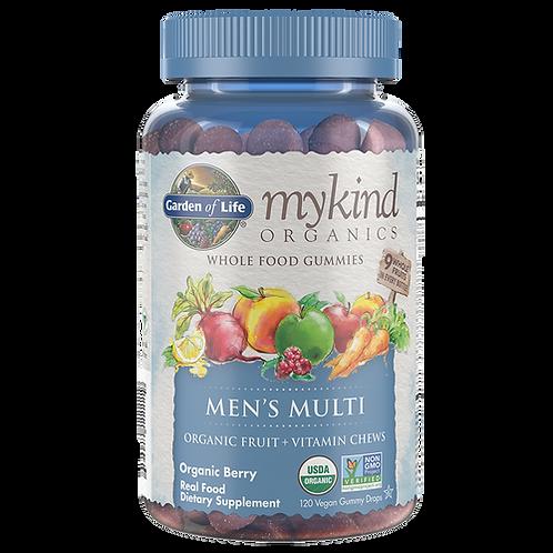 Garden of Life mykind Organics Men's Multi Gummies 120 ct.