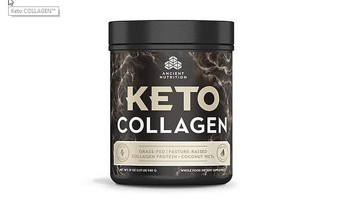 Ancient Nutrition Keto Collagen 19 oz.