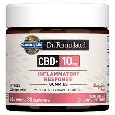 Garden of Life Dr. Formulated CBD+ Inflammatory Response Gummies  60 gummies