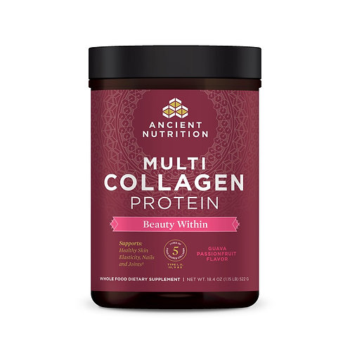 Ancient Nutrition Multi Collagen Protein Beauty Within l8.4 oz.