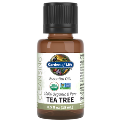 Garden of Life Essential Oil  Tea Tree .05 fl oz