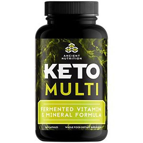 Ancient Nutrition Keto Multi Fermented Vitamin & Mineral Formula 180 caps