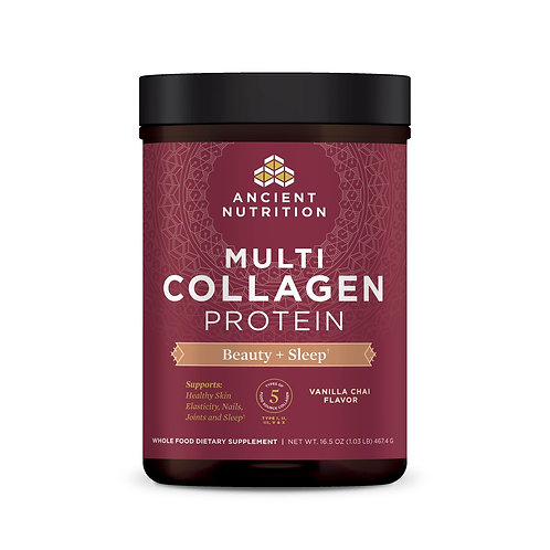 Ancient Nutrition Multi Collagen Protein Beauty + Sleep