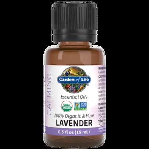 Garden of Life Essential Oil Lavender 0.5 fl oz