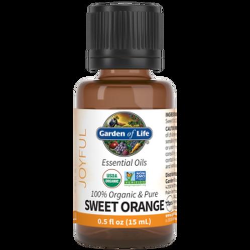 Garden of Life Essential Oil Sweet Orange 0.5 fl oz