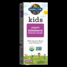 Garden of Life Kids Organic Elderberry Immune Syrup  116 ml