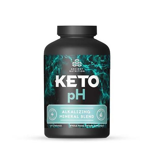 Ancient Nutrition Keto pH Alkalizing Mineral Blend 180 caps
