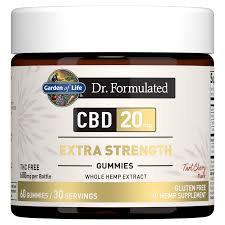Garden of Life Dr. Formulated CBD Extra Strength Gummies  60 gummies