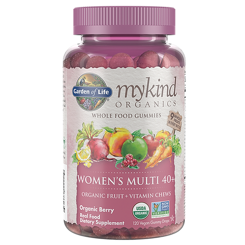Garden of Life mykind Organics Women's Multi 40+ Gummies 120 ct.