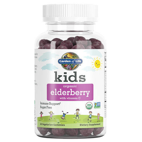 Garden of Life Kids Organic Elderberry  60 gummies