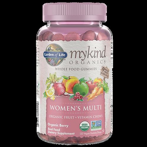 Garden of Life mykind Organics Women's Multi Gummies 120 ct.