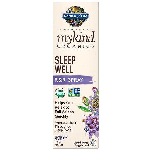 Garden of Life mykind Organics Sleep Well R & R Spray 2 oz.