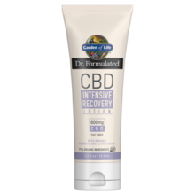 Garden of Life Dr. Formulated CBD Intensive Recovery Lotion