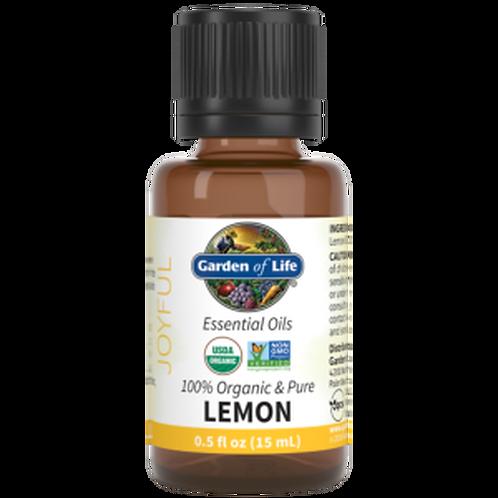 Garden of Life Essential Oil Lemon 0.5 fl oz