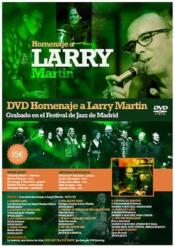 Homenaje a Larry Martin. Cartel 2015