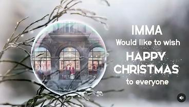 IMMA Happy Christmas promo