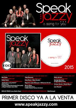 Speak Jazzy. Cartel 2015