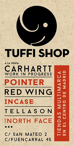 Tuffi Shops. Promo