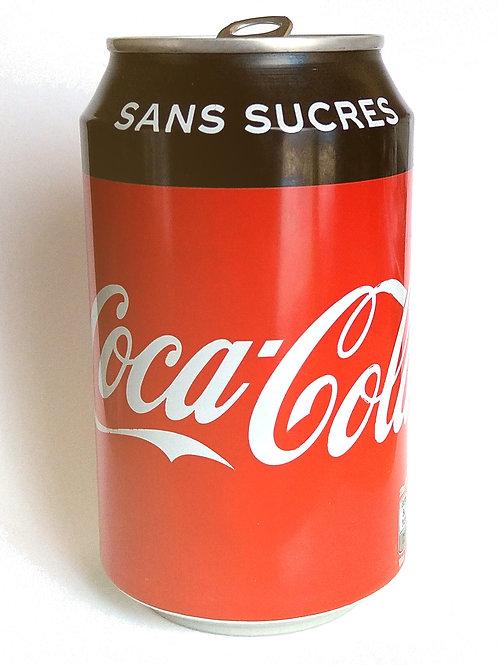 Canette Coca Zero