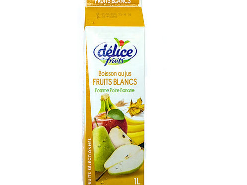 jus fruit blancs delice