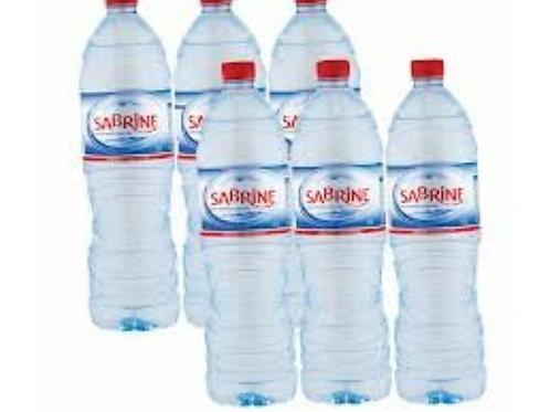 eau minérale sabrine 1,5 lot de 6