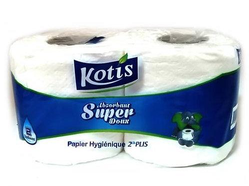 PAPIER TOILETTE KOTIS X2