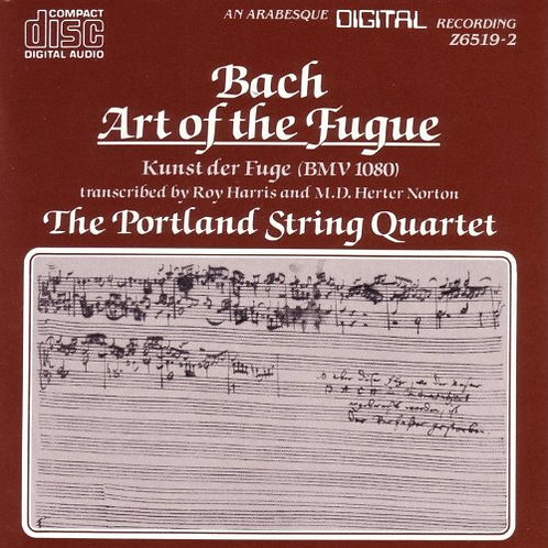 BACH, JOHANN SEBASTIAN - The Art of the Fugue
