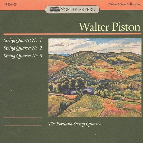 PISTON, WALTER - String Quartets Nos. 1, 2 and 3