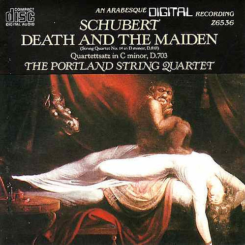 "SCHUBERT, FRANZ - String Quartet in D Minor, ""Death and the Maiden""/Quartettsatz"