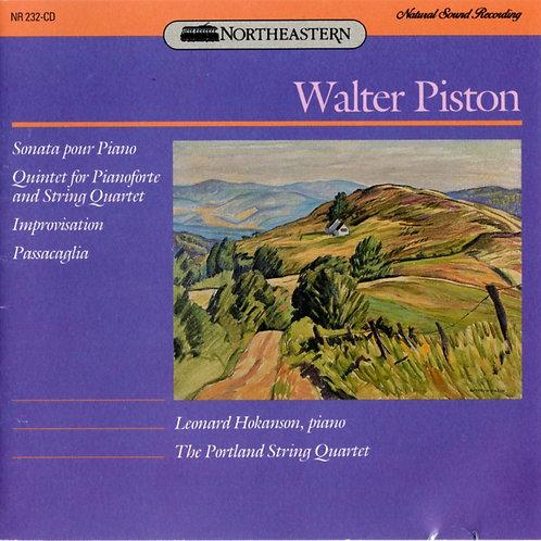 PISTON, WALTER - Quintet for Pianoforte and String Quartet