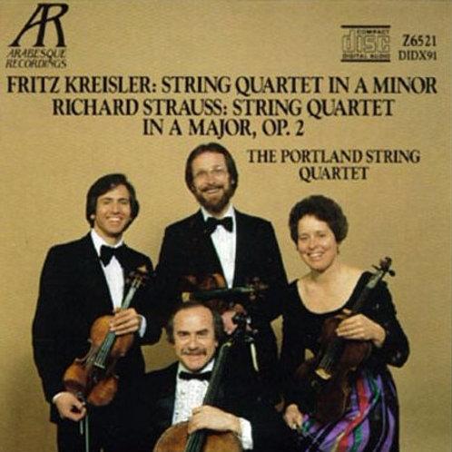 KREISLER/STRASS: String Quartets