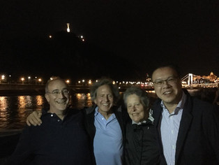 PSQ sailing the Danube 2018