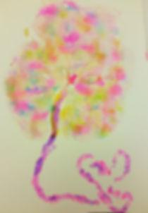 Multicolored Placenta Art Print
