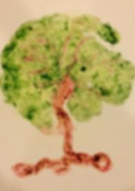 Tree Placenta Art Print